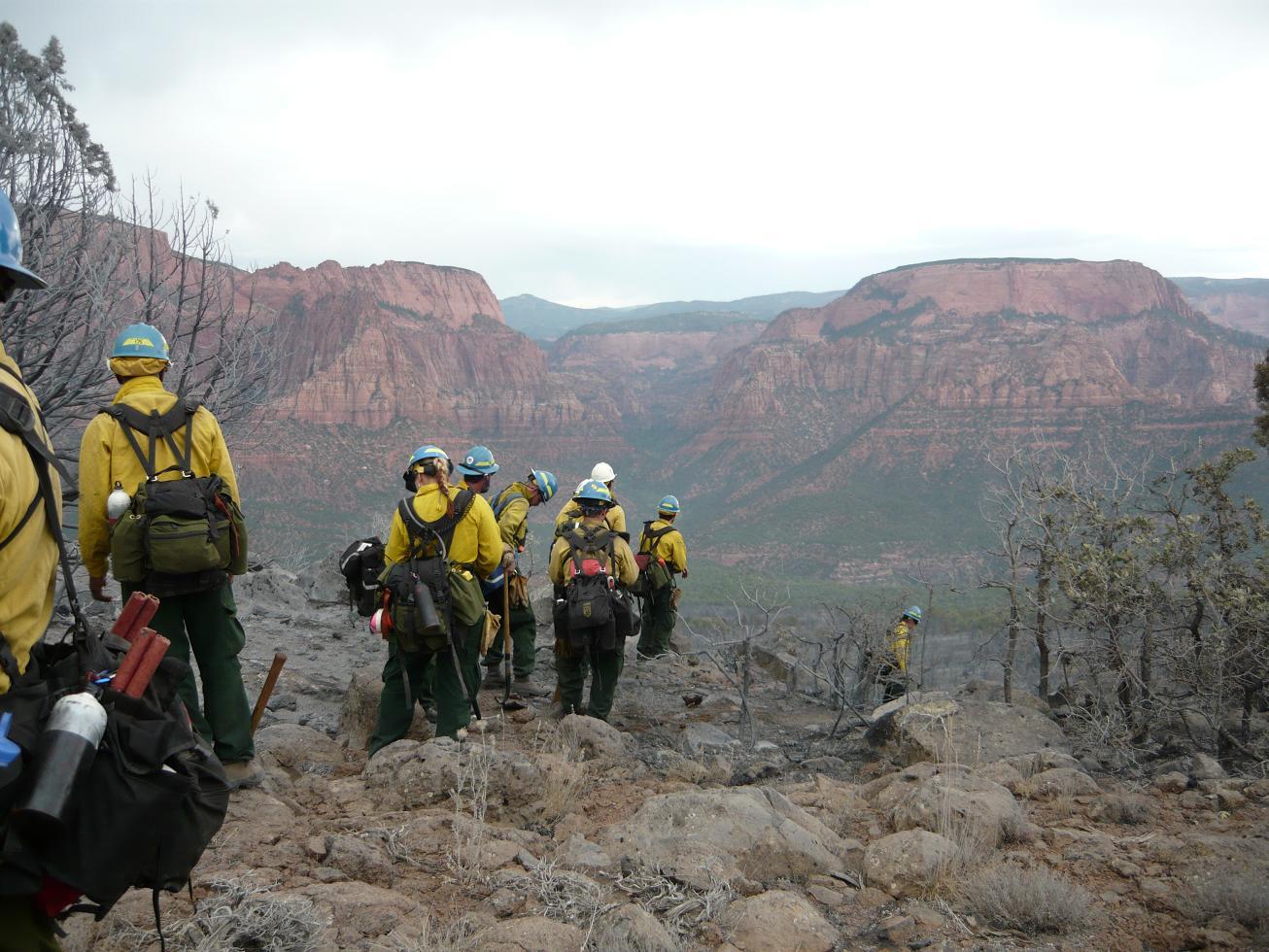 Cliffs Fire